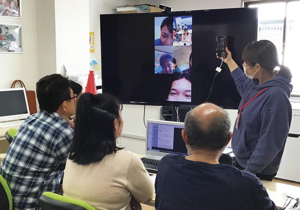 ボランティアティーチャーとして現地カンボジア学校とオンラインによる国際交流!・画像